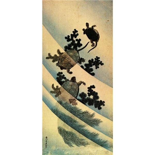 Hokusai - Turtles