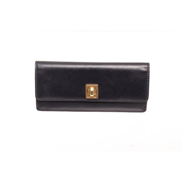 Michael Kors Navy Leather Natalie Flat Wallet