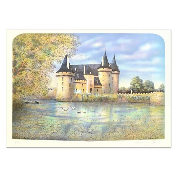 """Rolf Rafflewski, """"Chateau VII"""" Limited Edition Lithograph, Numbered and Hand Sig"""