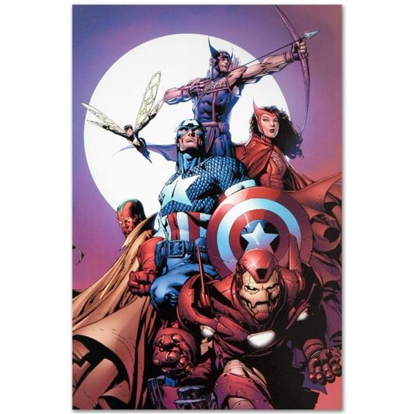 """Marvel Comics """"Avengers #80"""" Numbered Limited Edition Giclee on Canvas by David"""