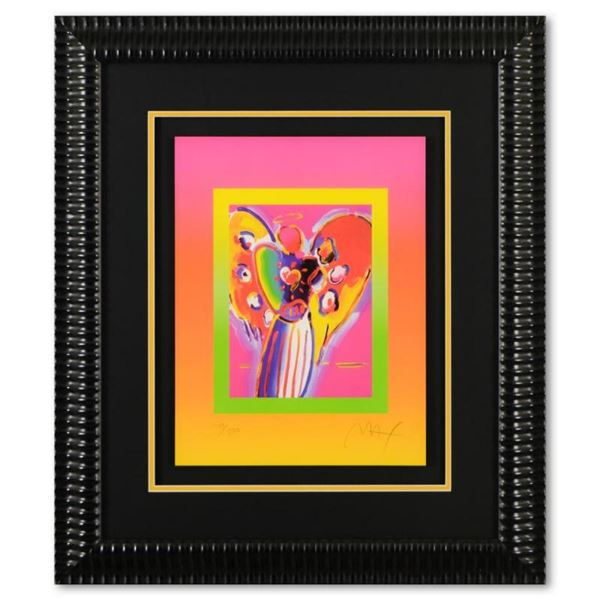 Angel with Heart on Blends by Peter Max