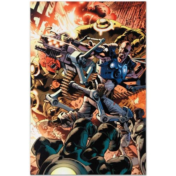 """Marvel Comics """"Ultimate Doom #1"""" Numbered Limited Edition Giclee on Canvas by Br"""