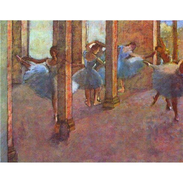 Edgar Degas - Dancers In The Foyer
