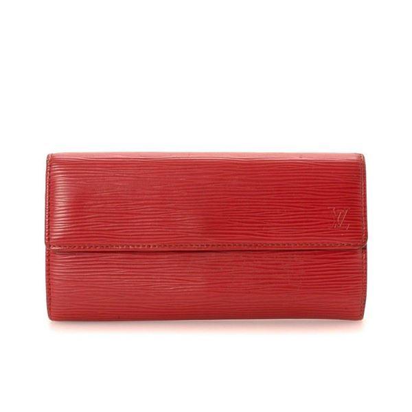 Louis Vuitton Red Monogram Carmine Sarah Wallet