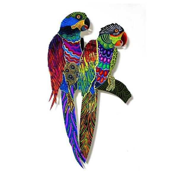 Two Parrots XX by Govezensky Original