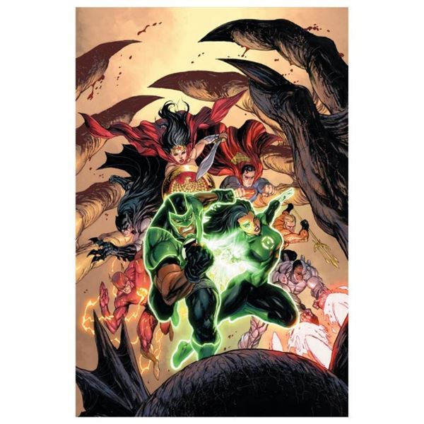"""DC Comics, """"Green Lanterns #15"""" Numbered Limited Edition Giclee on Canvas by Tyl"""