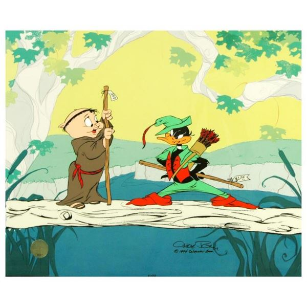 """""""Buck and a Quarter Staff"""" by Chuck Jones (1912-2002). Limited Edition Animation"""