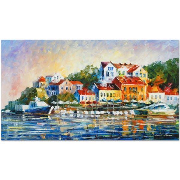 "Leonid Afremov (1955-2019) ""Mediterranean Noon"" Limited Edition Giclee on Canvas"