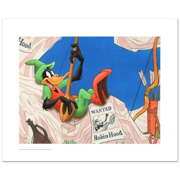 """""""Robin Hood Daffy"""" Limited Edition Giclee from Warner Bros., Numbered with Holog"""