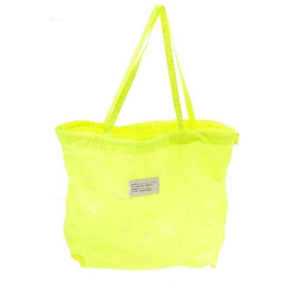 Marc by Marc Jacobs Neon Yellow Nylon Tote Bag
