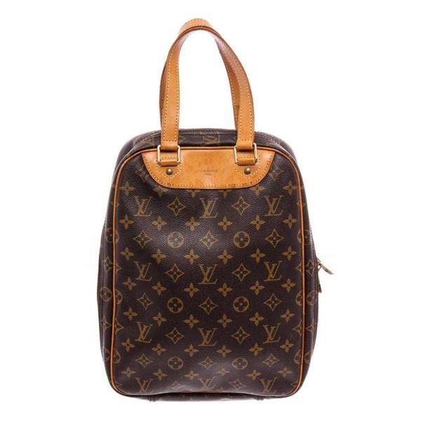 Louis Vuitton Monogram Canvas Leather Excursion Bag
