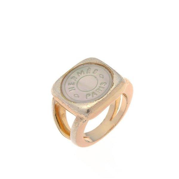 Hermes Tone Clou de Selle Ring