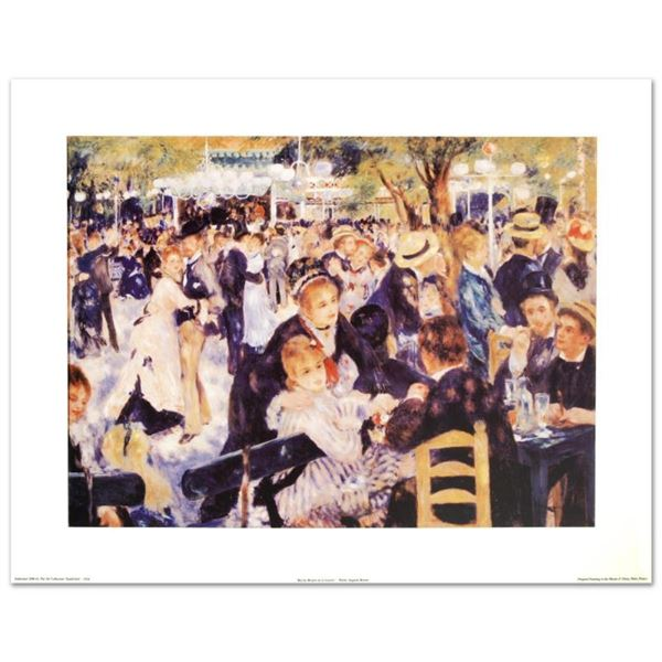 """""""Bal du Moulin de la Galette"""" Fine Art Print by Renoir (1841-1919), Created with"""