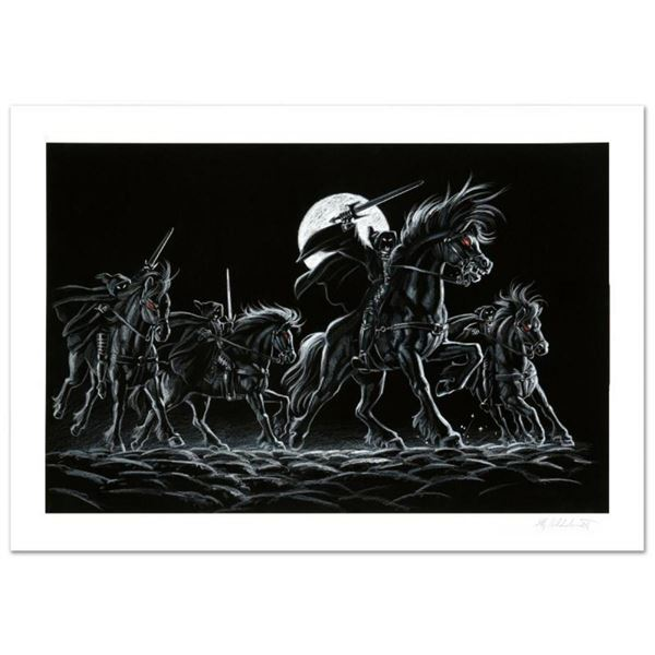 """""""Black Riders"""" Limited Edition Giclee by Greg Hildebrandt. Numbered and Hand Sig"""