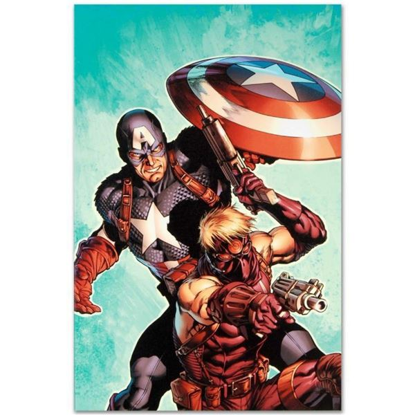 """Marvel Comics """"Ultimate Avengers #2"""" Numbered Limited Edition Giclee on Canvas b"""