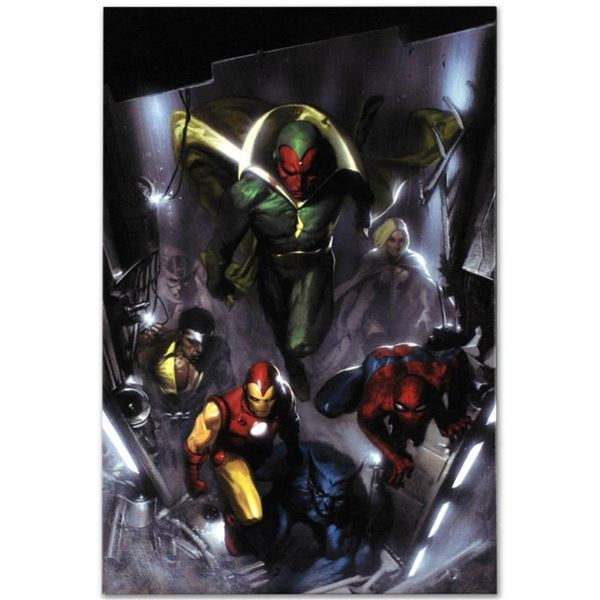 """Marvel Comics """"Secret Invasion #2"""" Extremely Numbered Limited Edition Giclee on"""