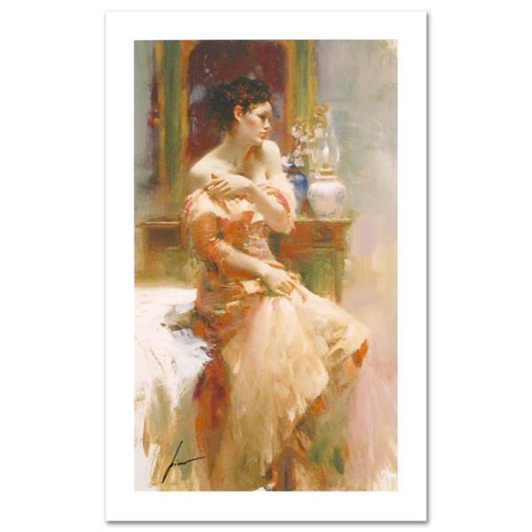 """Pino (1939-2010) """"Silk Taffeta"""" Limited Edition Giclee. Numbered and Hand Signed"""