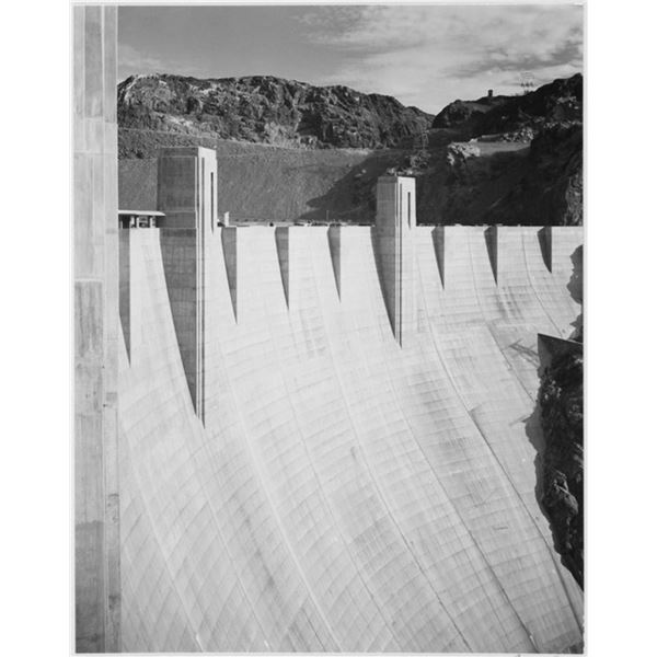 Adams - Boulder Dam Close Up