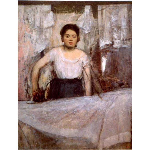 Edgar Degas - Woman Ironing