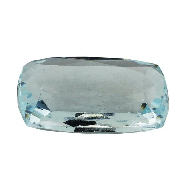 9.94 ct.Natural Cushion Cut Aquamarine