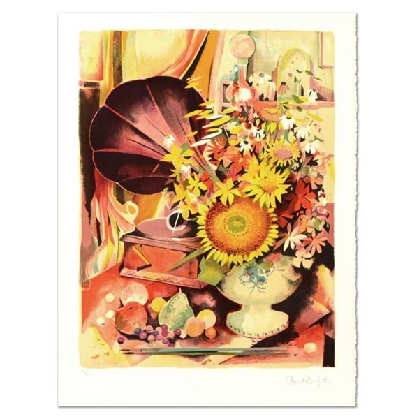 """Robert Vernet Bonfort, """"Bouquet"""" Limited Edition Lithograph, Numbered and Hand S"""