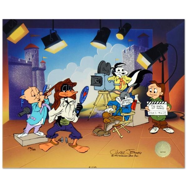 "Chuck Jones (1912-2002), ""Mark of Zero"" Limited Edition Animation Cel with Hand"