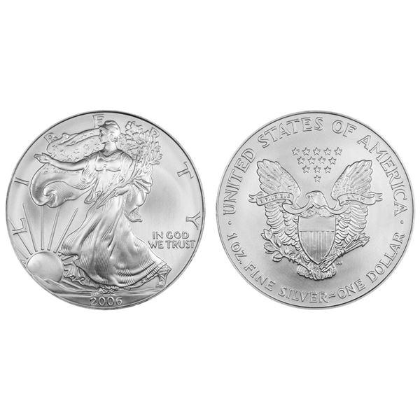 2006 American Silver Eagle .999 Fine Silver Dollar Coin
