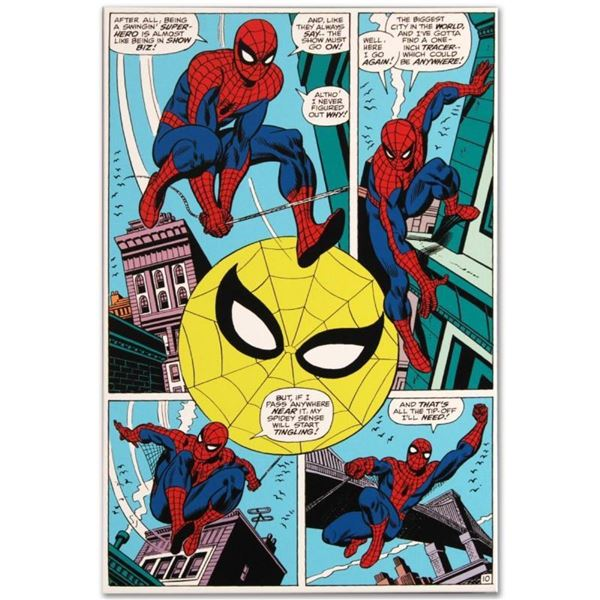 """Marvel Comics """"Amazing Spider-Man #90"""" Numbered Limited Edition Giclee on Canvas"""