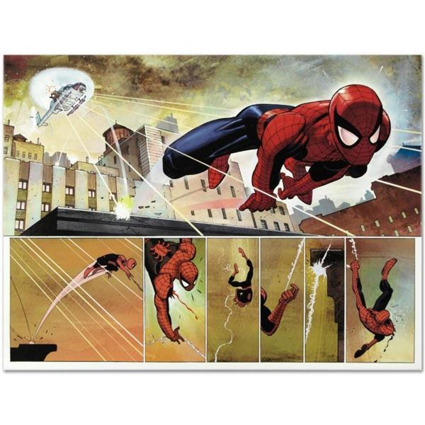 """Marvel Comics """"The Amazing Spider Man #584"""" Numbered Limited Edition Giclee on C"""