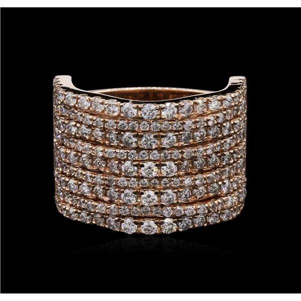 2.36 ctw Diamond Ring - 14KT Rose Gold