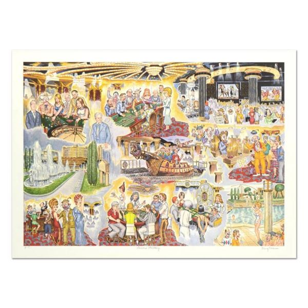 """George Crionas (1925-2004), """"Caesar's Fantasy"""" Limited Edition Lithograph, Numbe"""