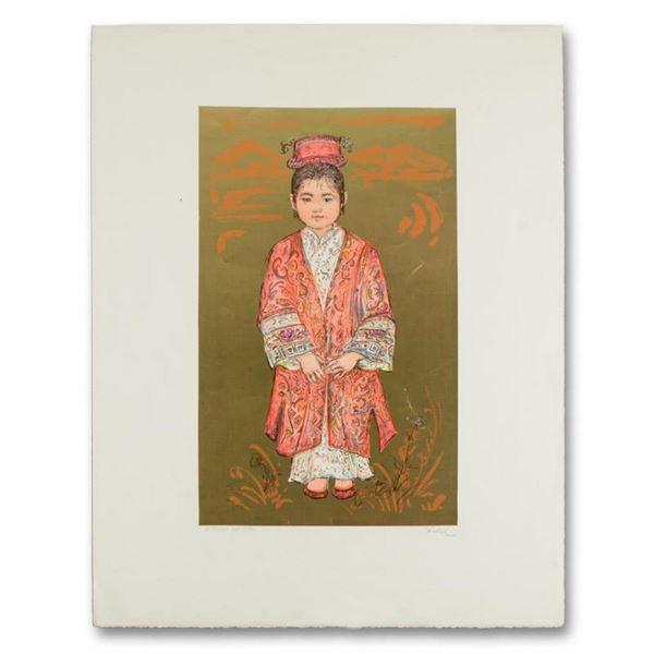 "Edna Hibel (1917-2014), ""Sun Ming Tsai of Beijing"" Limited Edition Lithograph, N"