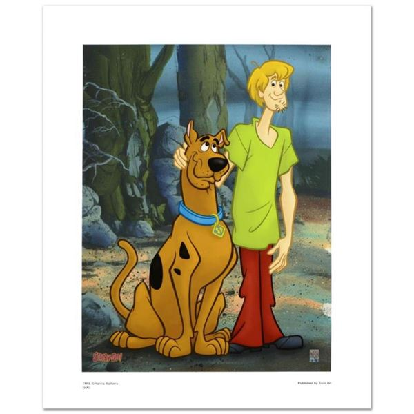 """""""Scooby & Shaggy Standing"""" Limited Edition Giclee from Hanna-Barbera, Numbered w"""