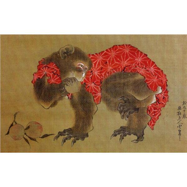 Hokusai - Monkey