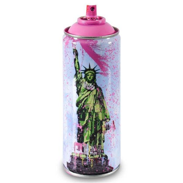 Liberty (Pink) by Mr Brainwash