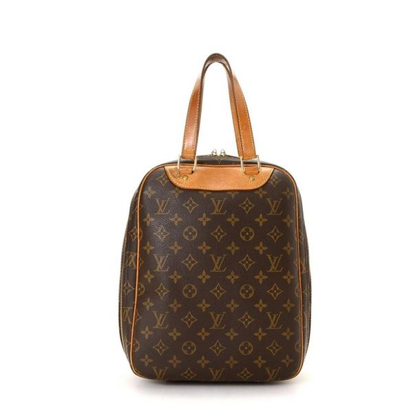 Louis Vuitton Brown Monogram Excursion Handbag