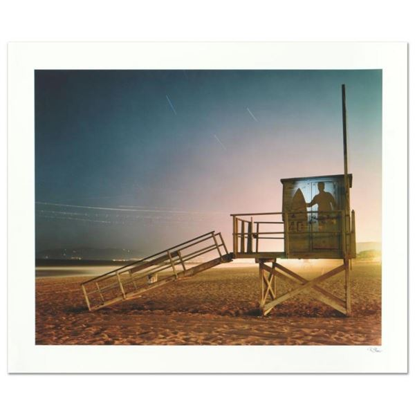 Robert Sheer,  Spirit Surfer  Limited Edition Single Exposure Photograph, Number