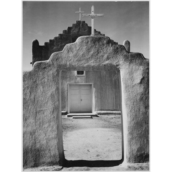 Adams - Church in Taos Pueblo New Mexico