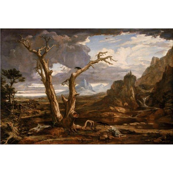 Washington Allston - Elijah in the Desert