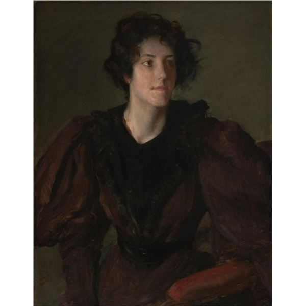 William Merritt Chase - Study of a Young Woman