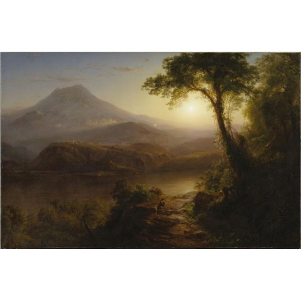 Frederic Edwin Church - Tropical Scenery