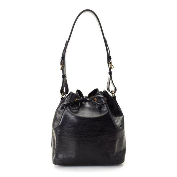 Louis Vuitton Black Petit Noe Shoulder Bag