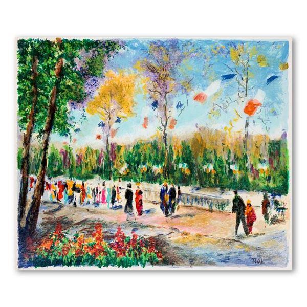 "Dimitri Polak (1922-2008), ""Like a Parisian Celebration"" Hand Signed Limited Edi"