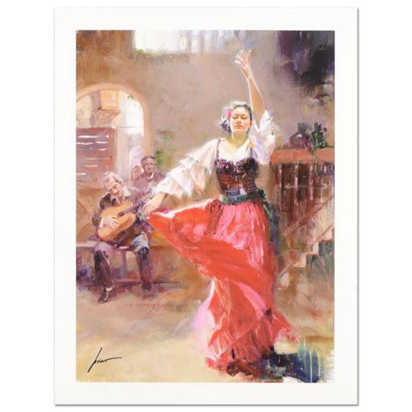 """Pino (1939-2010) """"The Main Attraction"""" Limited Edition Giclee. Numbered and Hand"""
