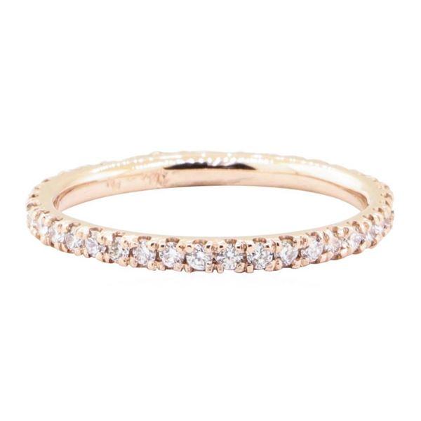 0.60 ctw Diamond Eternity Ring - 14KT Rose Gold