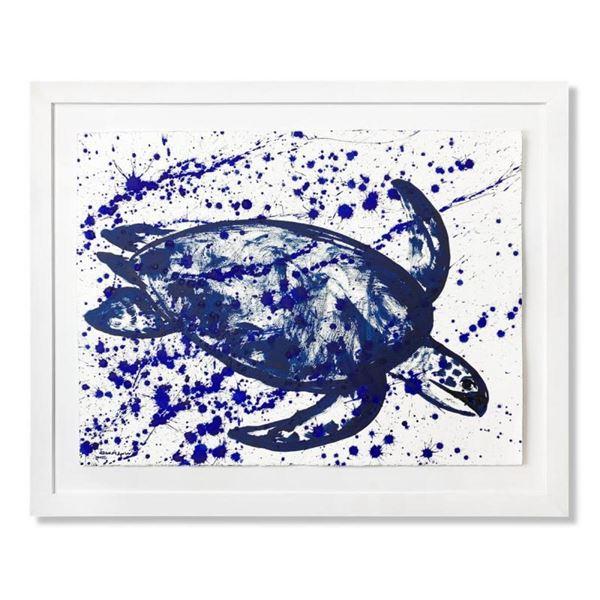 Turtle Splash by Wyland Original
