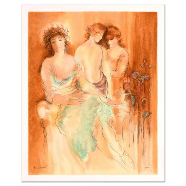 """Batia Magal, """"Aristocrats"""" Limited Edition Serigraph, Numbered and Hand Signed w"""