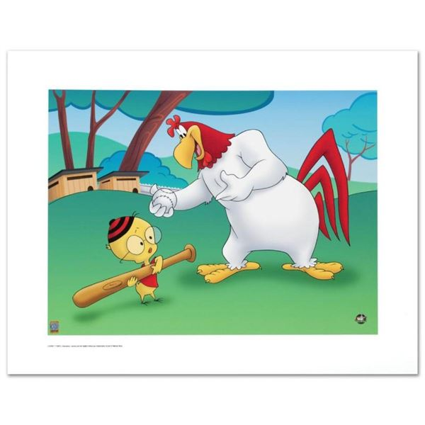 """""""Let's Play Ball"""" Limited Edition Giclee from Warner Bros., Numbered with Hologr"""