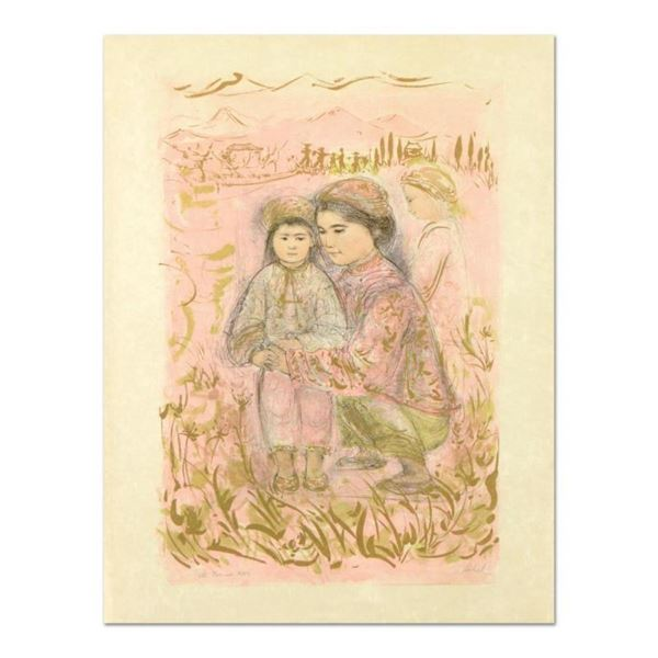 """Edna Hibel (1917-2014), """"Mrs. Hsu"""" Limited Edition Lithograph on Rice Paper, Num"""