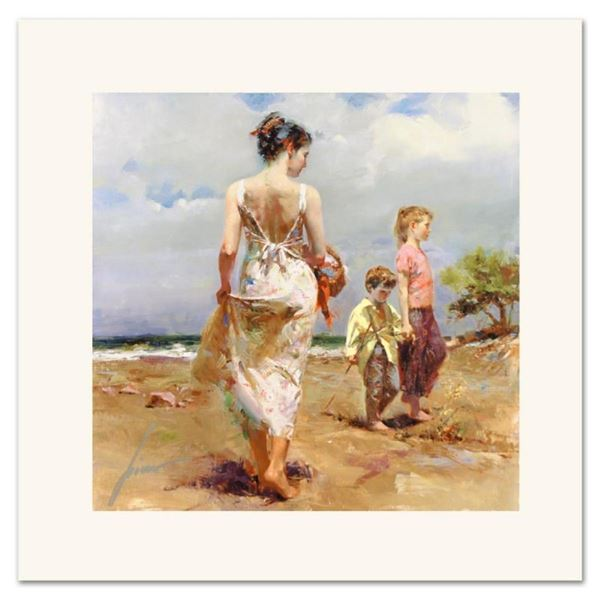 """Pino (1939-2010) """"Mediterranean Breeze"""" Limited Edition Giclee. Numbered and Han"""